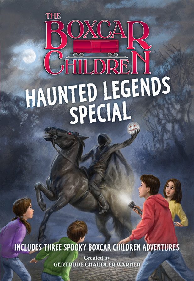 Books the boxcar children the haunted legends special fandeluxe Images