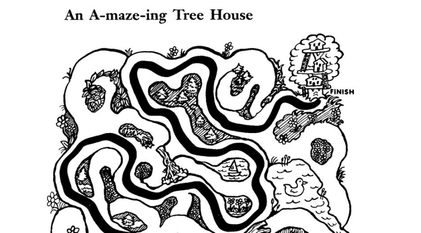 an a maze ing tree house magic tree house coloring pages