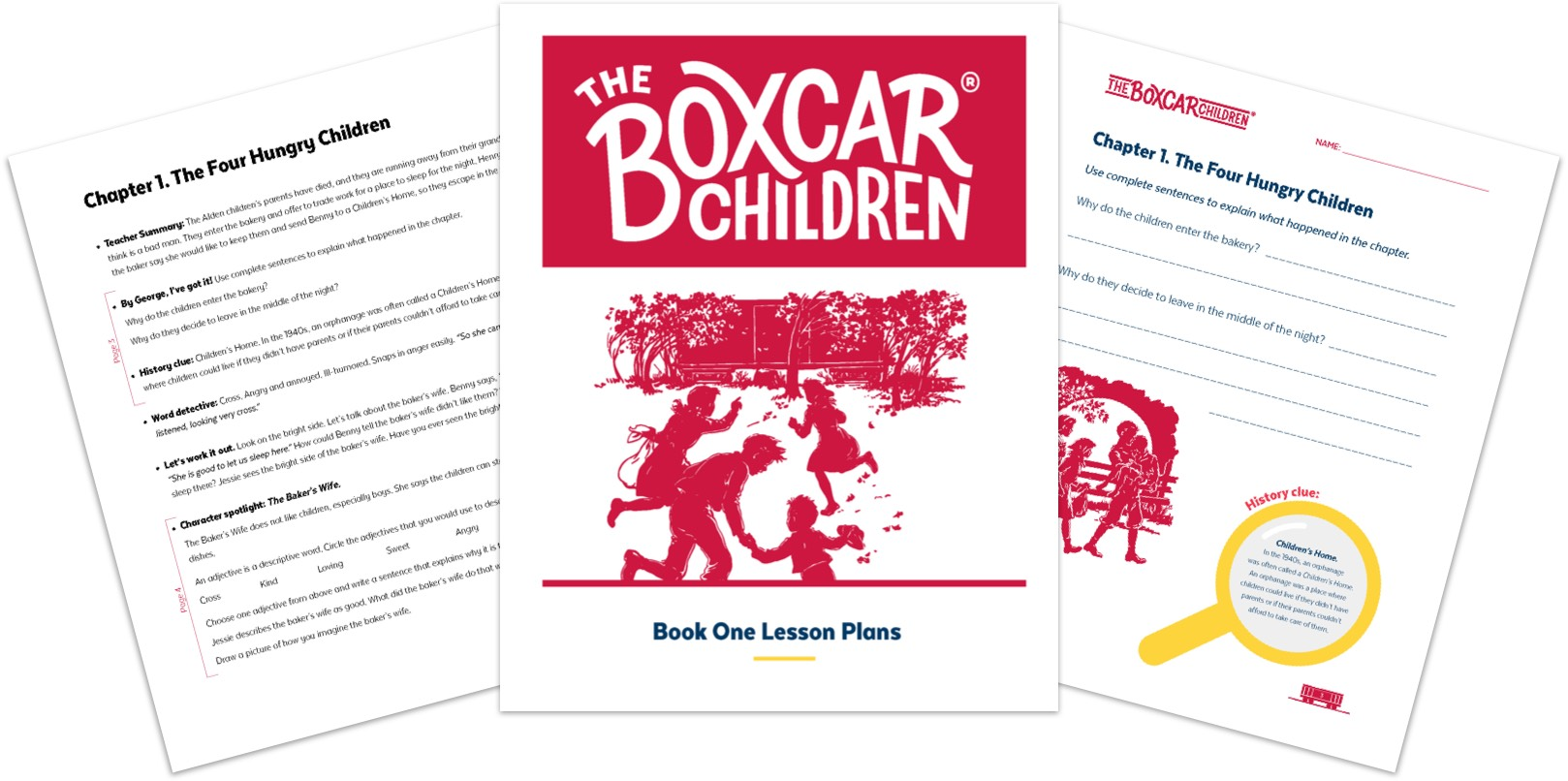 Boxcar in the Classroom | The Boxcar Children
